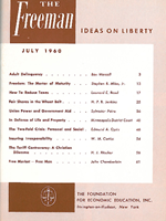 cover of July 1960