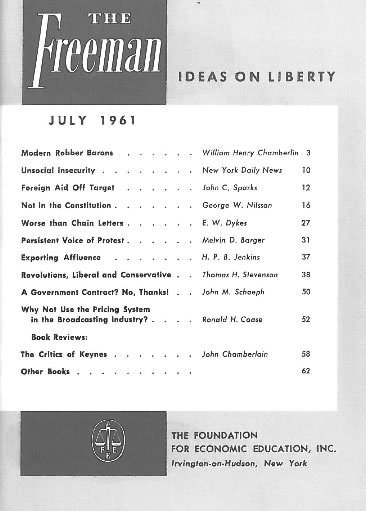 cover image July 1961
