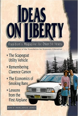 cover image July/August 2003