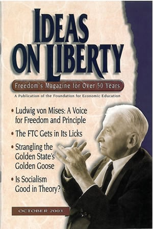 cover image October 2003