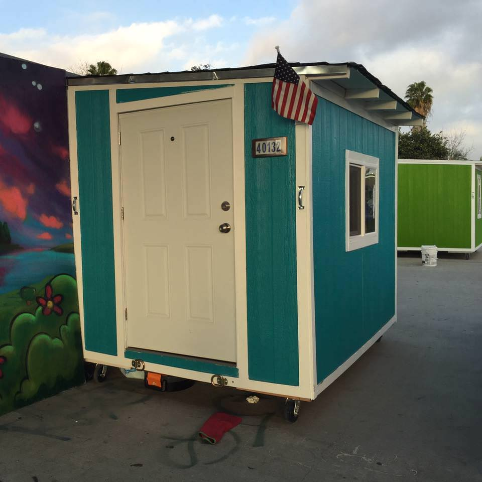 Peachy Los Angeles Steals Homeless Peoples Tiny Houses Foundation For Largest Home Design Picture Inspirations Pitcheantrous
