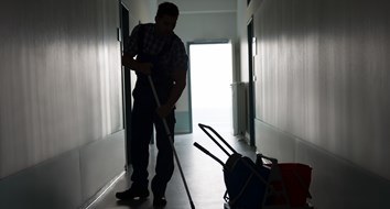 Opportunity Says the Janitor