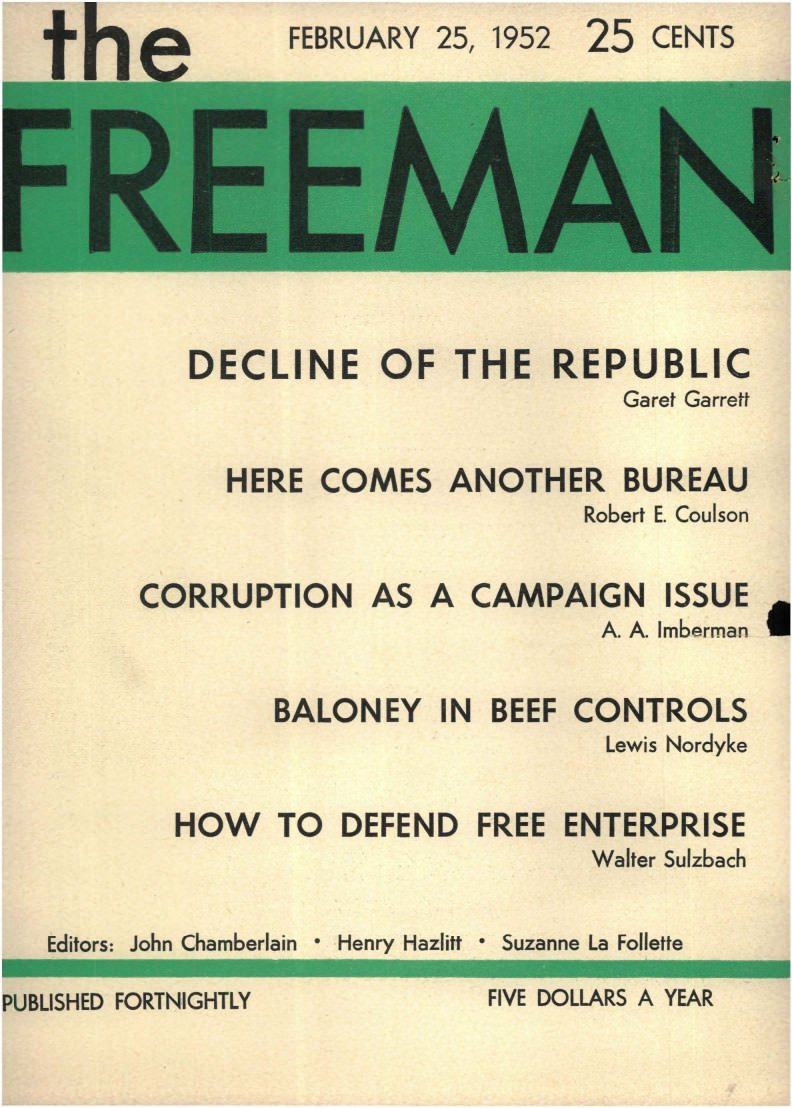 cover image February 1952 B