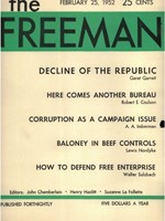 cover of February 1952 B