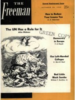 cover of October 1952 B