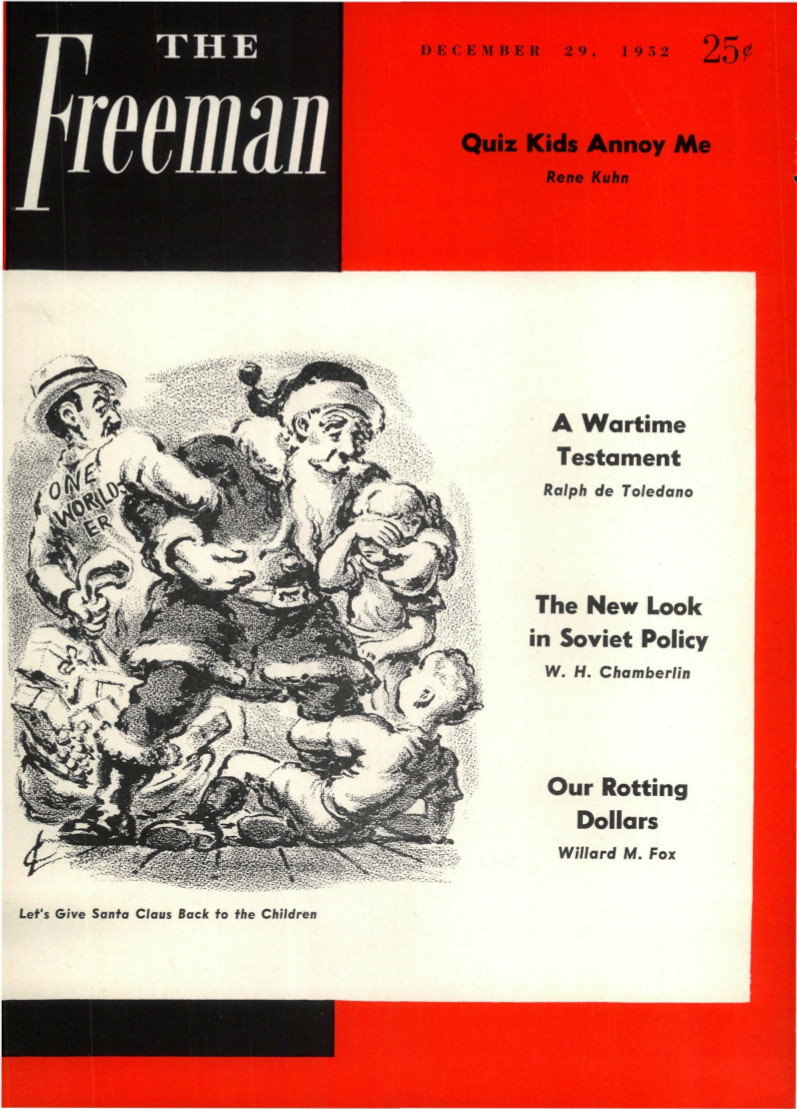 cover image December 1952 C