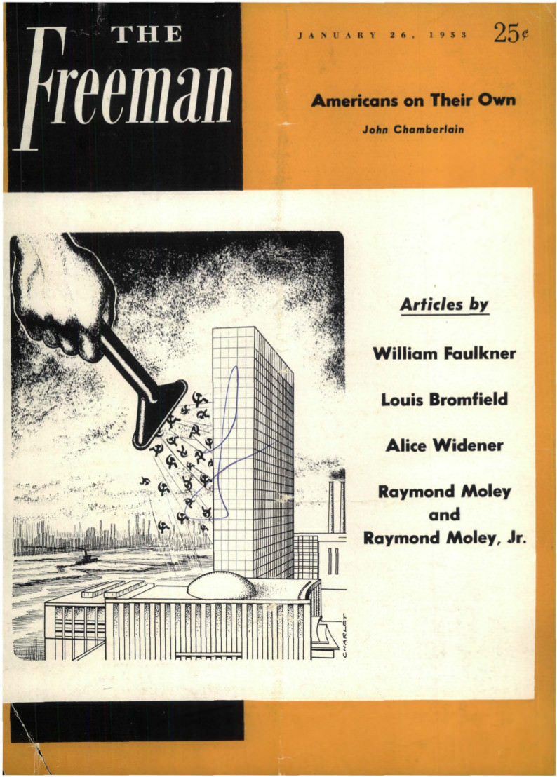 cover image January 1953 B