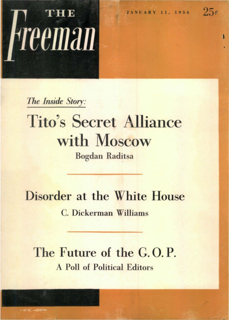 cover image January 1954 A