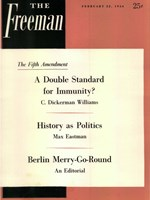 cover of February 1954 B