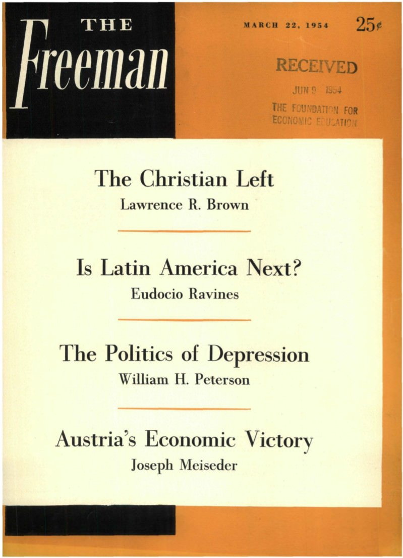 cover image March 1954 B