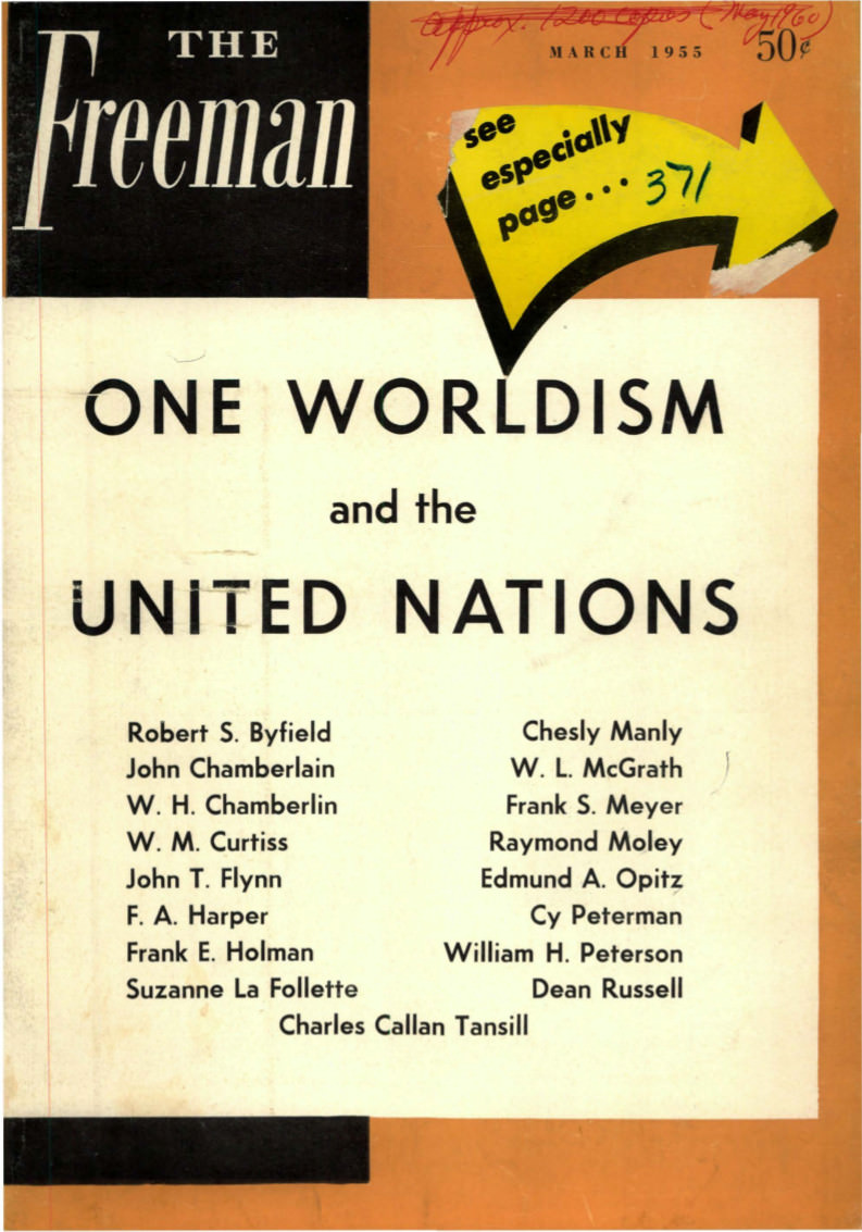 cover image March 1955