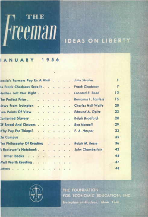 cover image January 1956