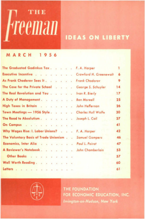 cover image March 1956