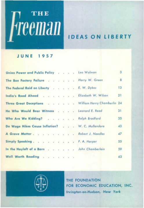 cover image June 1957