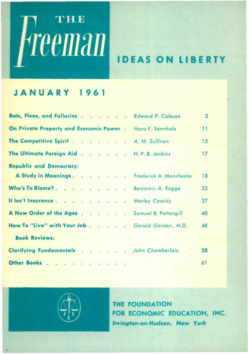 cover image January 1961