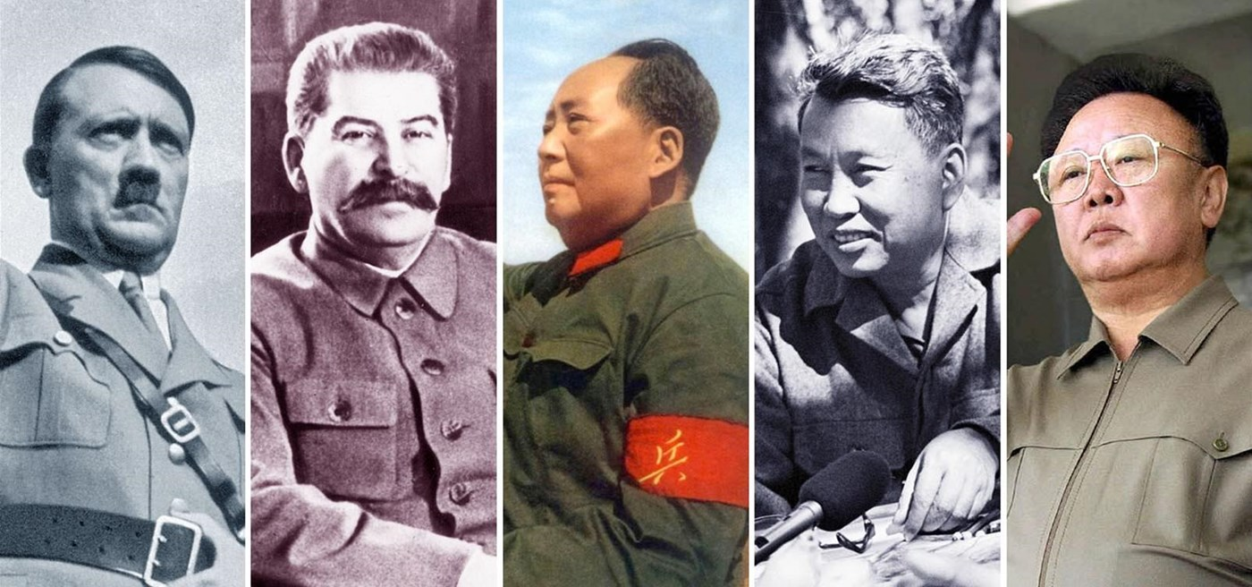 how mao of china adolf hitler and joseph stalin shaped the world 25 chilling photos of evil people from history having a great time  adolf hitler laughing at the park  joseph stalin playing with his daughter.