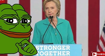 "Hillary's Crusade against the ""Alt-Right"" and Meme Warfare"