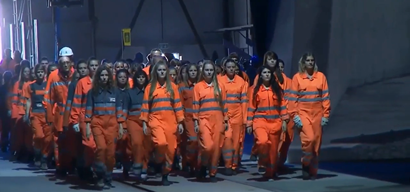 The Gotthard Tunnel Ceremony Reveals the Aesthetic of Statism