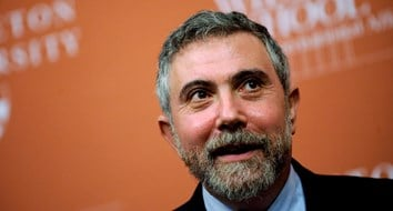 Paul Krugman Actually Gets Something Right