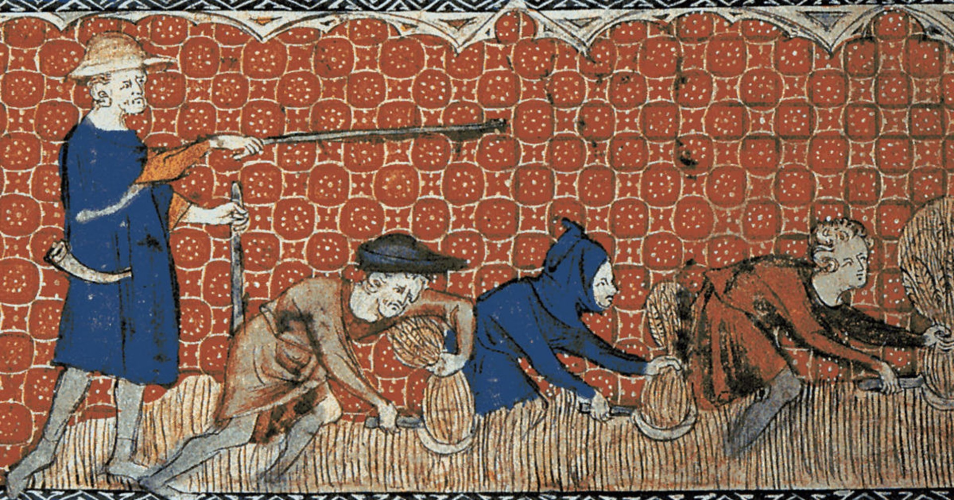 Image result for peasant farmers and their feudal lord