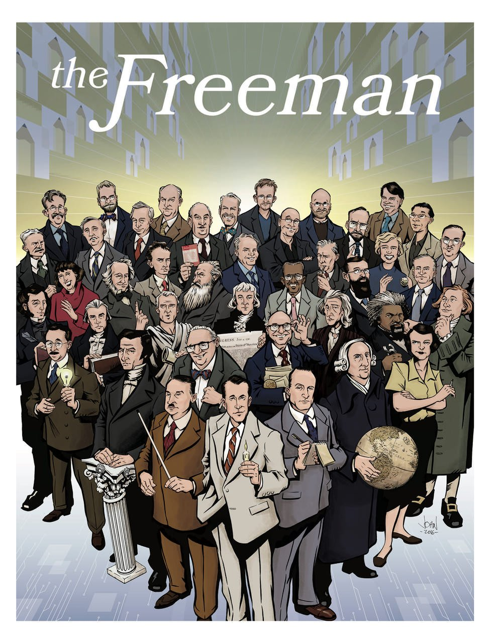 cover image The Freeman: Fall 2016