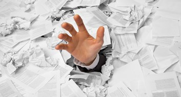 Bureaucracy Buries the Human Spirit with Paperwork