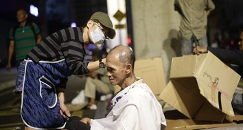 Haircuts for the Homeless: The Latest Public Menace