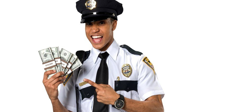 military police officer salary