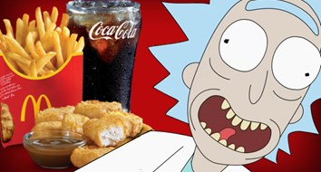 Rick and Morty Crash the Fast Food Twitter Wars