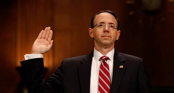Jerk Move: Trump Threw Rosenstein Under the Bus