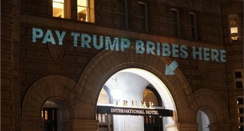 Can You Be Sued for Projecting Words onto Your Neighbor's Building?