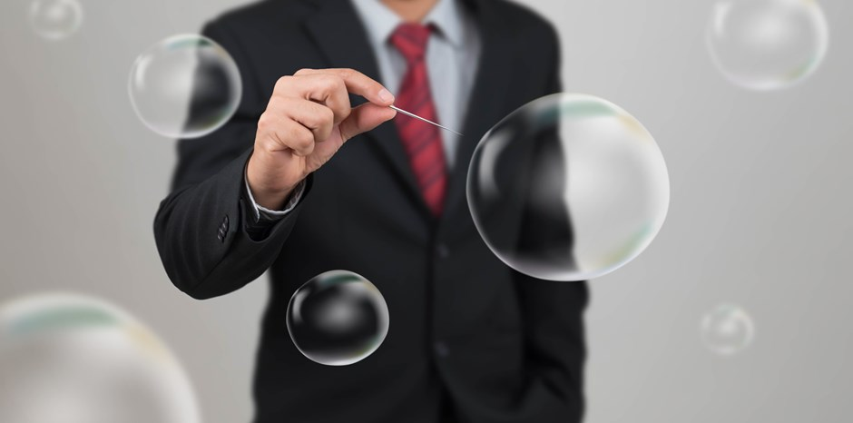 Any of These 3 Bubbles Could Be about to Burst | Alvaro Vargas Llosa