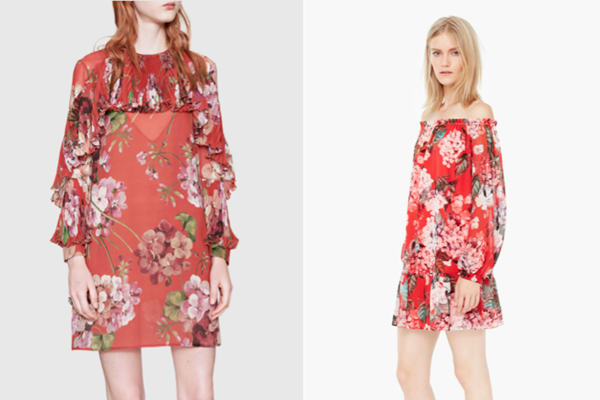 492f6a7b2b The dress on the left is made by Gucci, and the one on the right is made by  the fast fashion company Mango. Can you tell the difference?