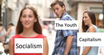 Millennials Are in a Love Triangle with Capitalism and Socialism