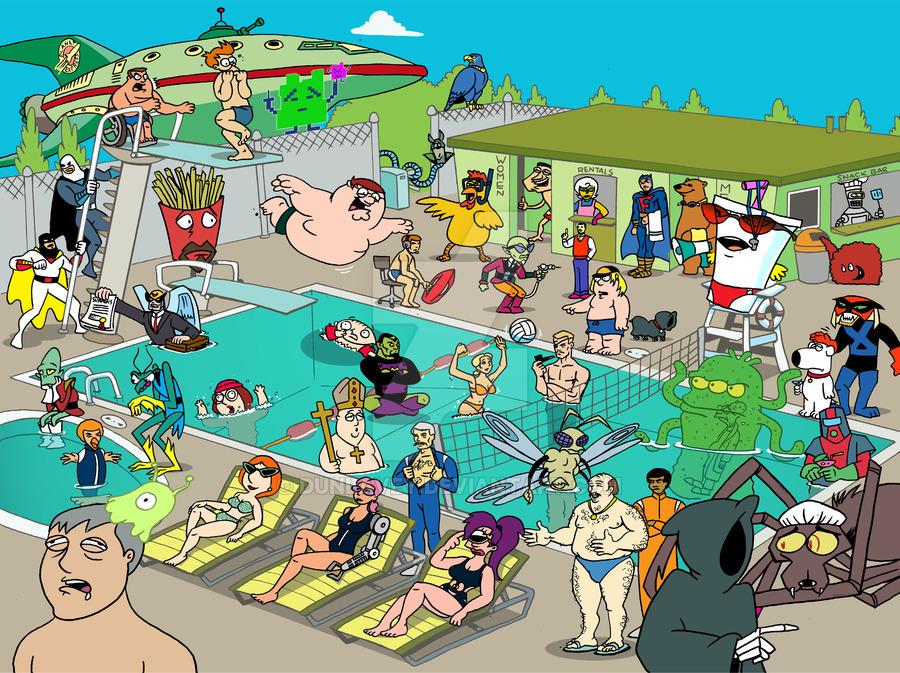 Adult swim shows on cartoon network