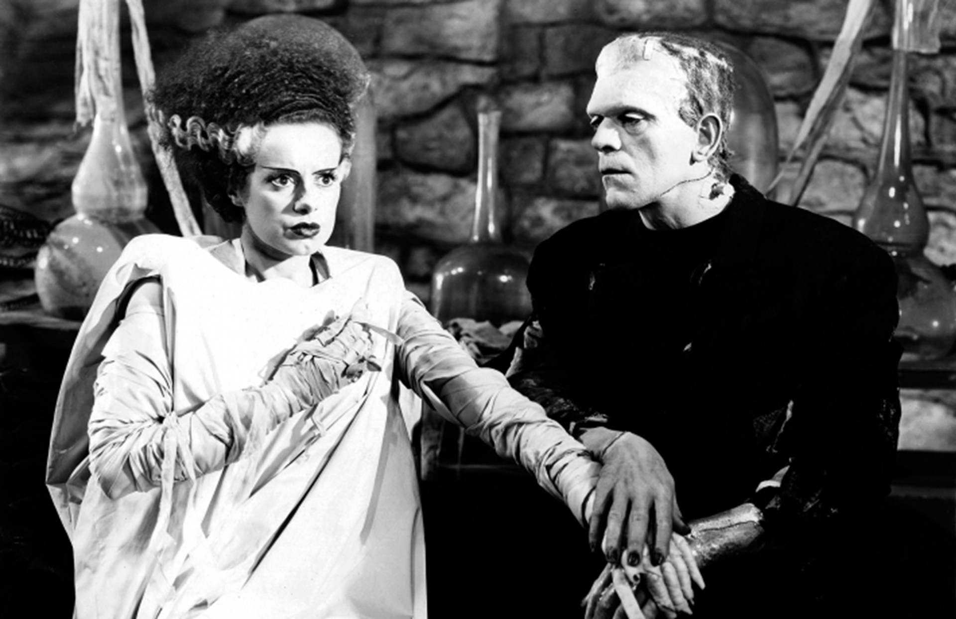 The brilliance of the original frankenstein films