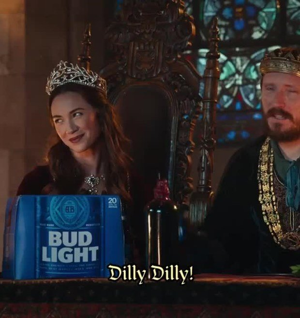 Dilly Dilly Bud Light Commercial 100 Images Bud