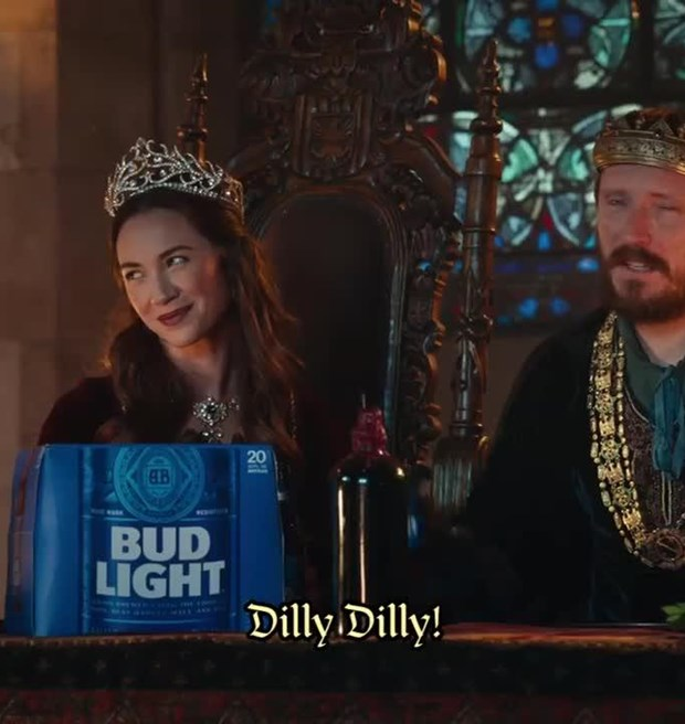The genius of the dilly dilly commercial foundation for dilly dilly mozeypictures Images