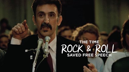 The Time Rock & Roll Saved Free Speech
