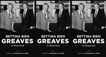 Bettina Bien Greaves: In Memoriam