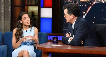 "The Questions Stephen Colbert Should Have Asked Democratic Socialist ""Rock Star"" Alexandria Ocasio-Cortez"
