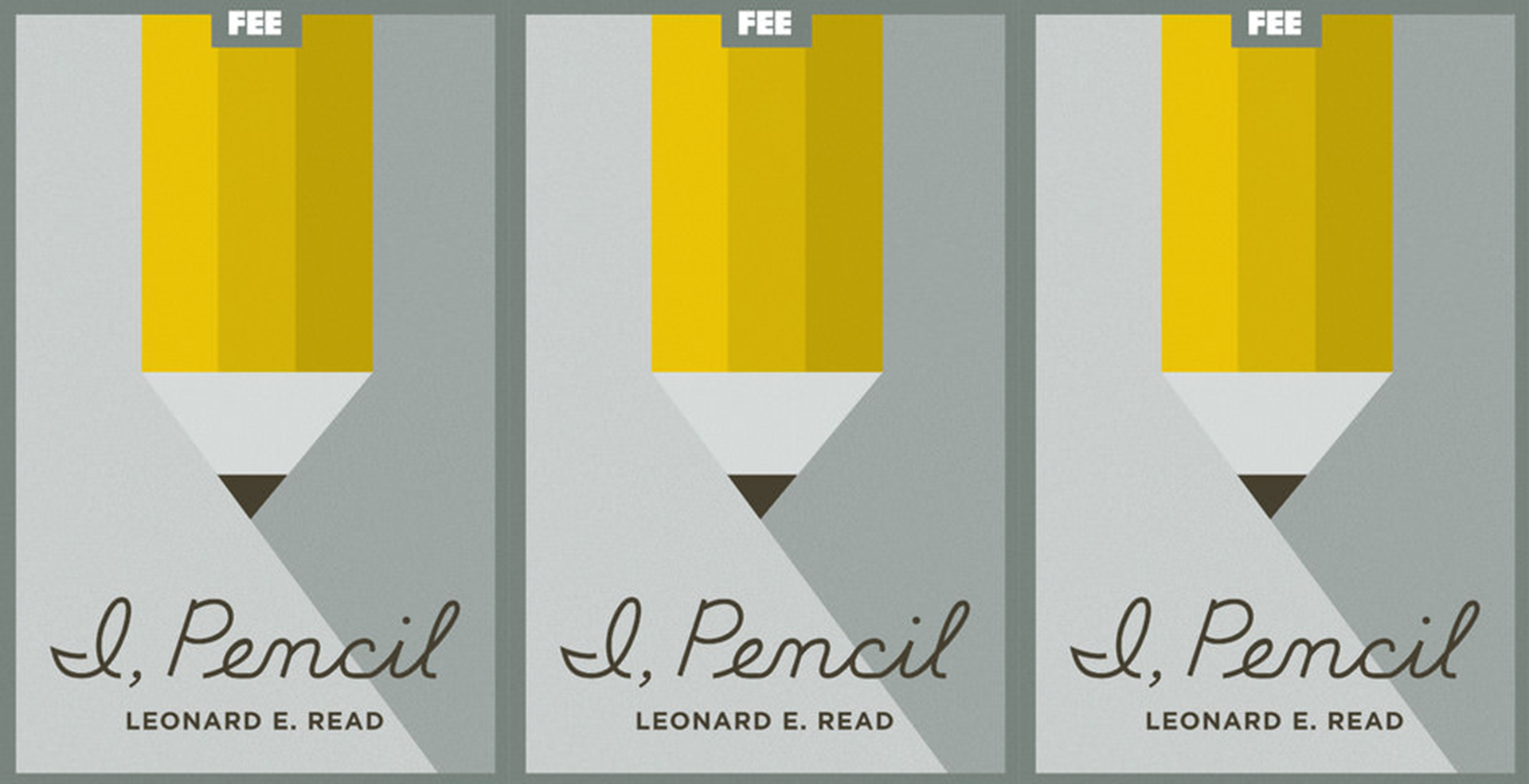 I Pencil By Leonard E Read Foundation For Economic Education