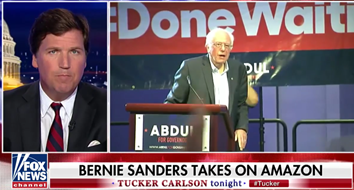 Tucker Carlson Feeling the Bern Illustrates Conservatism's Hostility to Free Markets