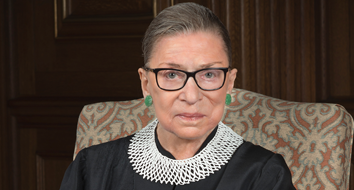"Justice Ginsburg Calls Kavanaugh Hearings a ""Highly Partisan Show"""