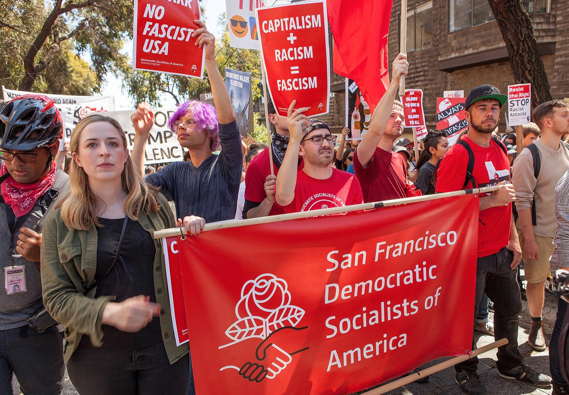 سوسیالیسم در آمریکا