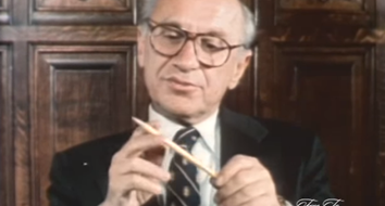 "Milton Friedman Reveals the Humbling Truth of ""I, Pencil"" in Just Two Minutes"