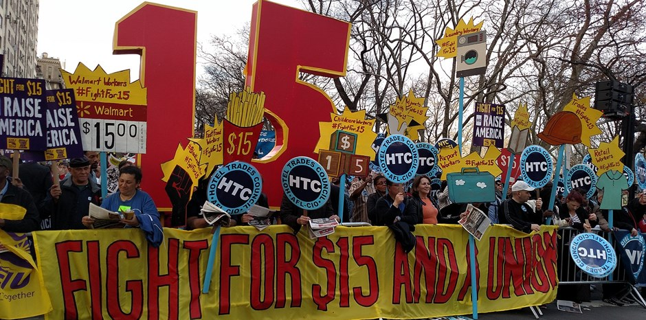 NYC Fast-Food Workers Stunned Some Are Being Fired after $15 Minimum Wage Hike | Chloe Anagnos