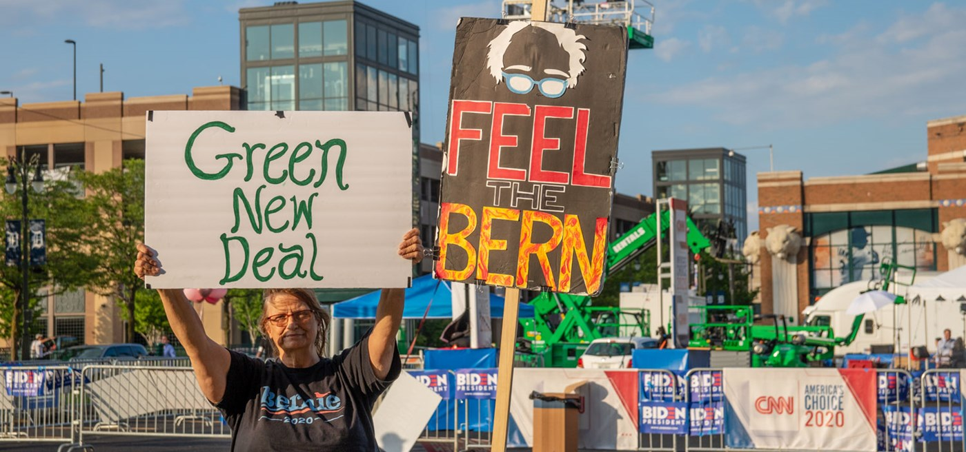 Image result for wikimedia commons sanders green new deal