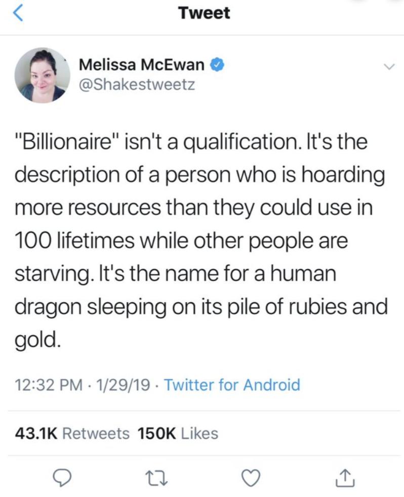 Is Jeff Bezos Smaug the Dragon?