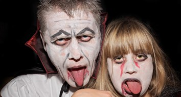 Do Zombies Scare Democrats and Vampires Spook Republicans?